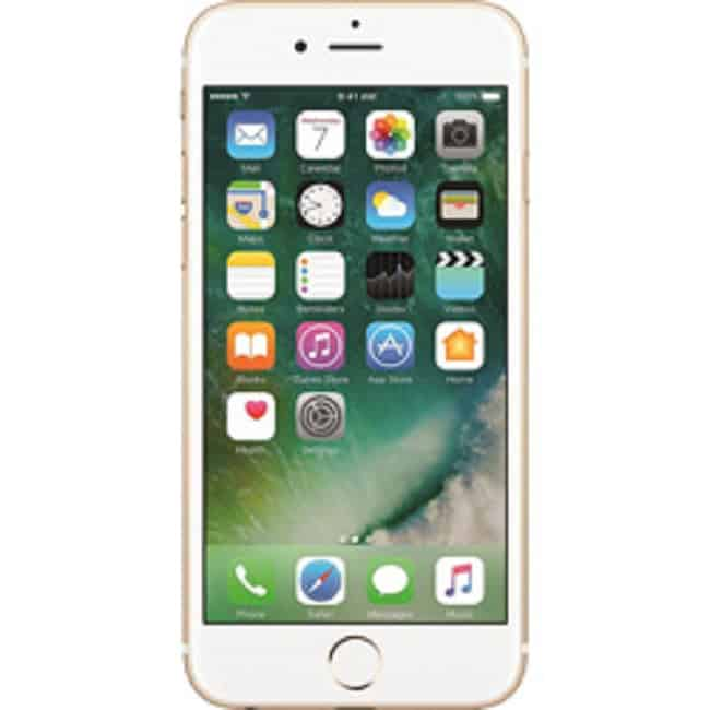 iPhone 6 Gold Front - Gadgets365